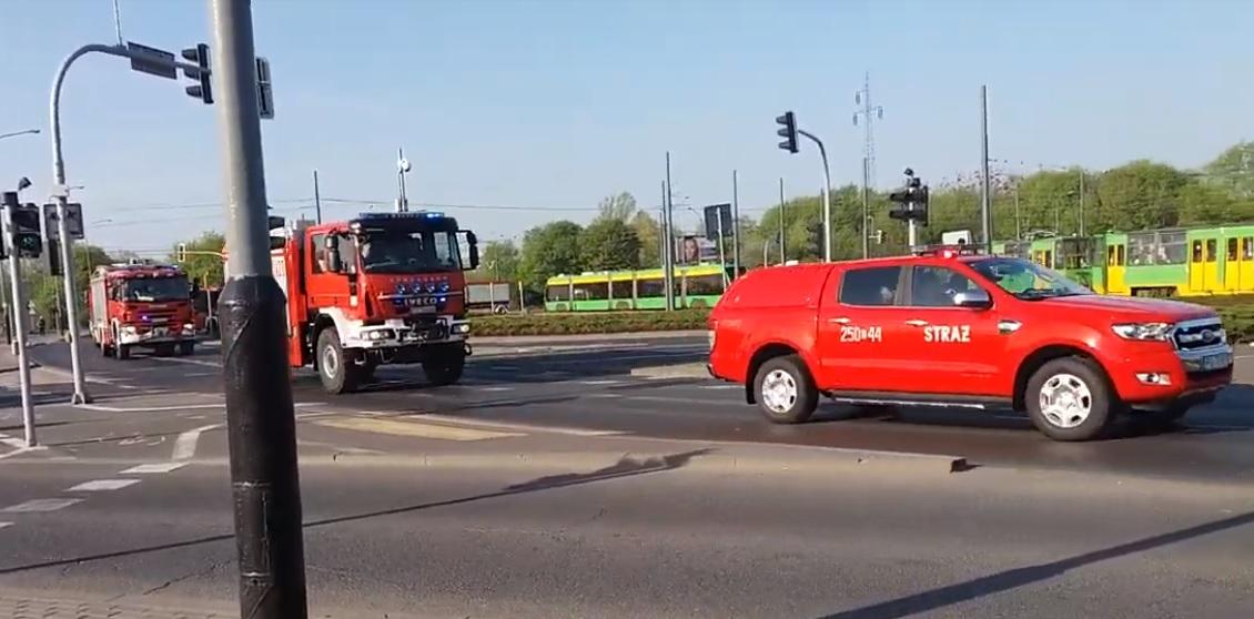 SA PSP Poznań alarmowo do Rytla [FILM] | Remiza.pl – Polski Serwis Pożarniczy