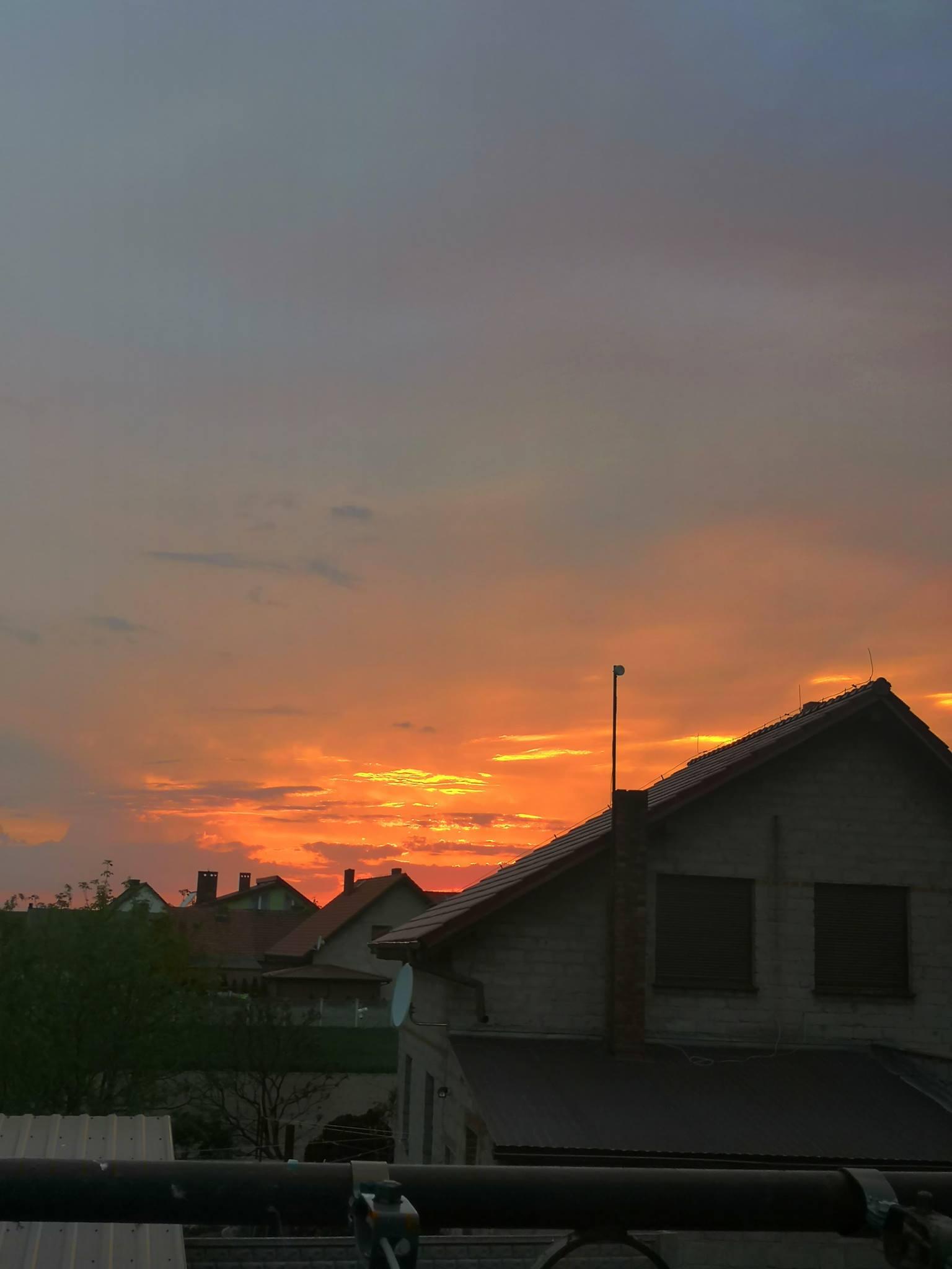 Porcja fotek od Czytelniczki Agnieszki  Zachód słońca w Krz…