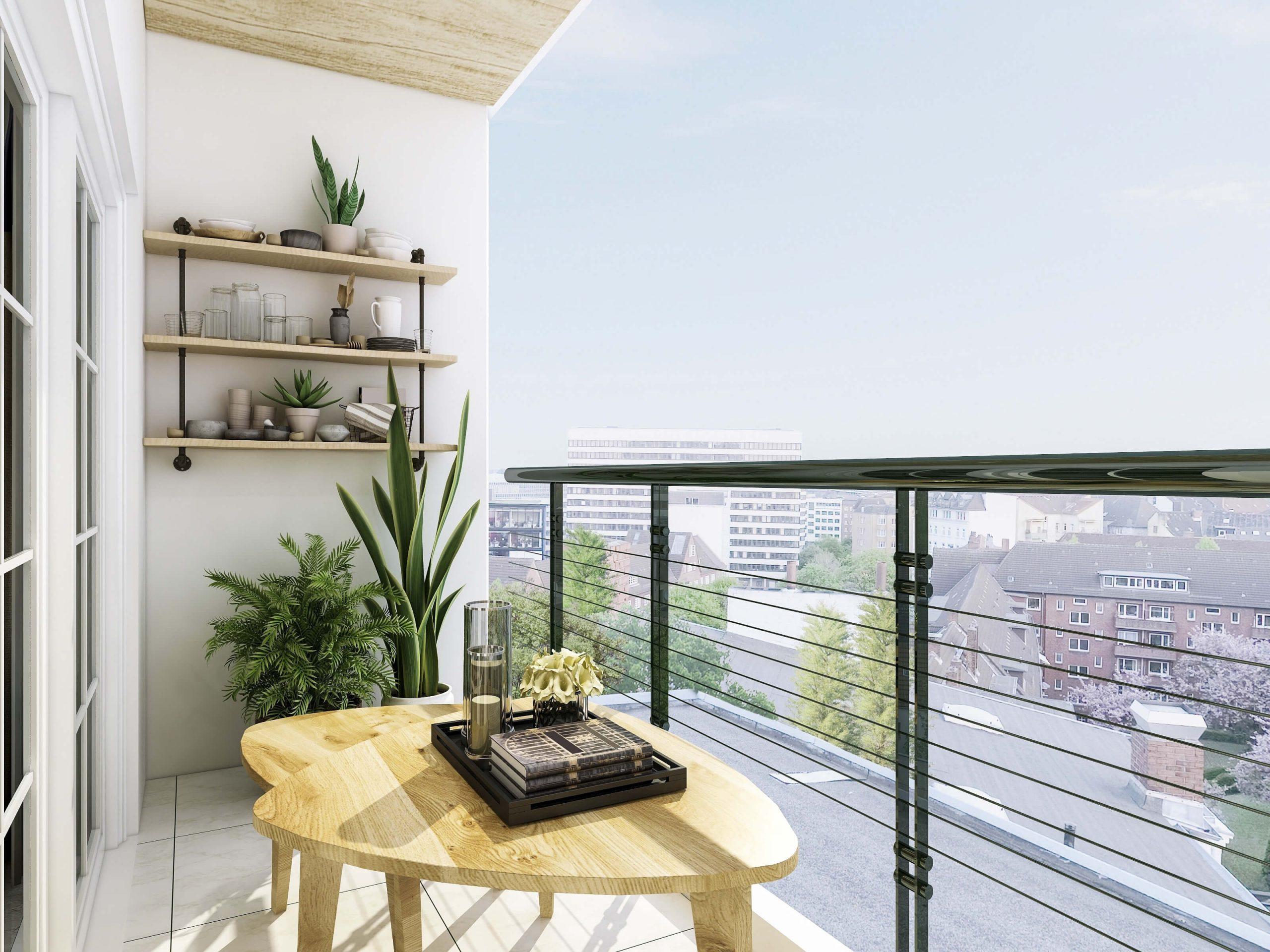 Jak zaaranżować balkon w bloku?