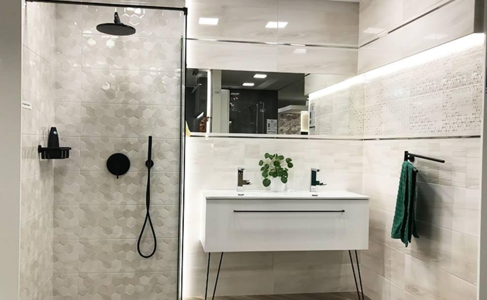 Kafelki heksagonalne w aranżacji łazienki!
