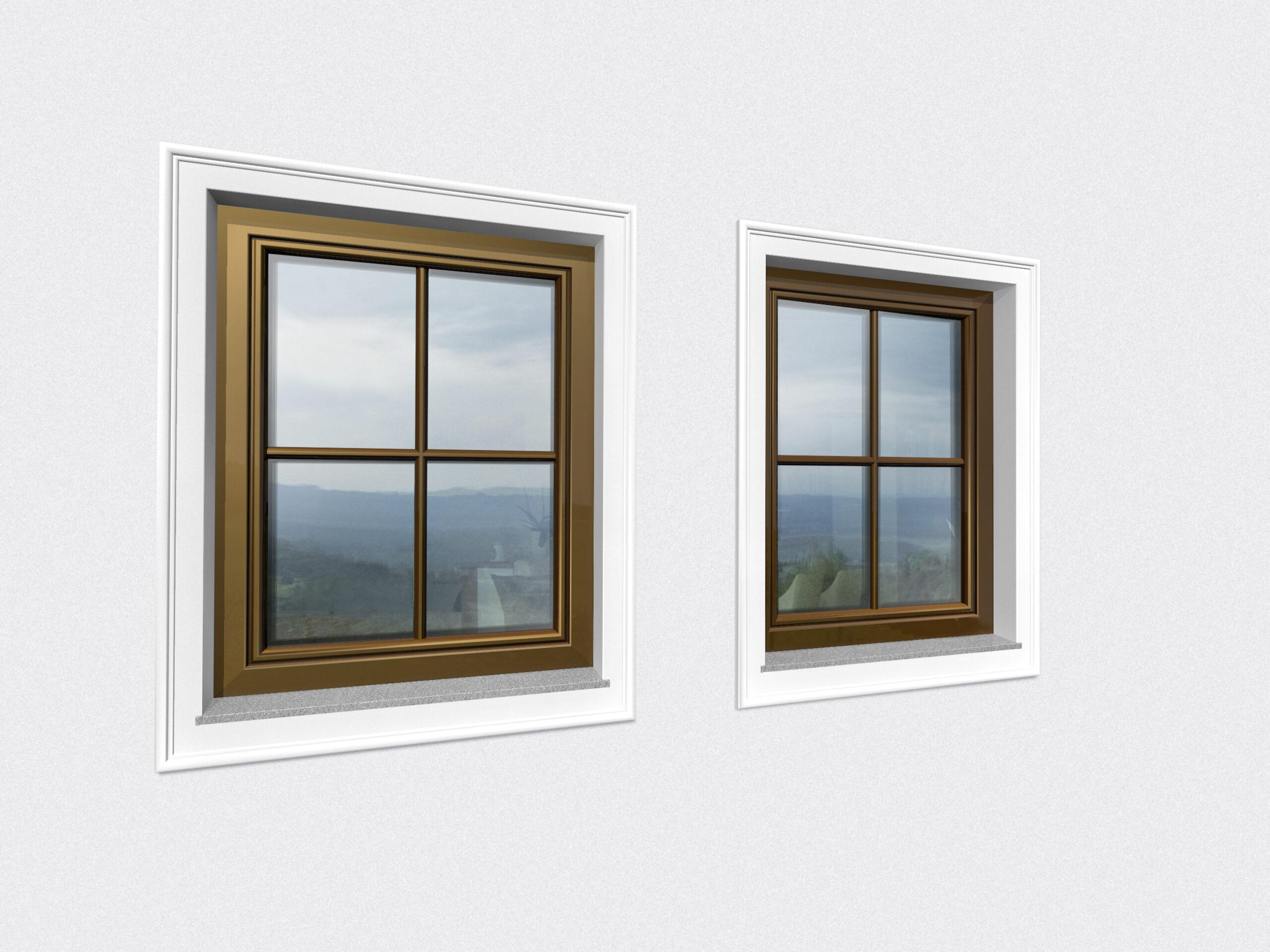 Cztery zalety okien drewnianych