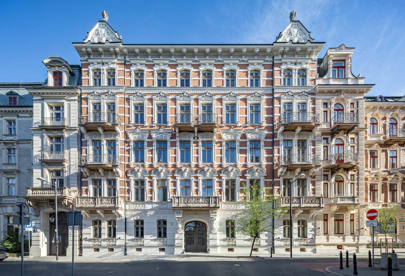 Foksal- luksusowe apartamenty w centrum Warszawy